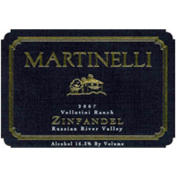 2008 マルティネッリ ジンファンデル ヴェルティニ・ランチ
