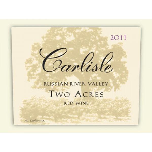 2011 カーライル ツーエイカーズ レッドワイン