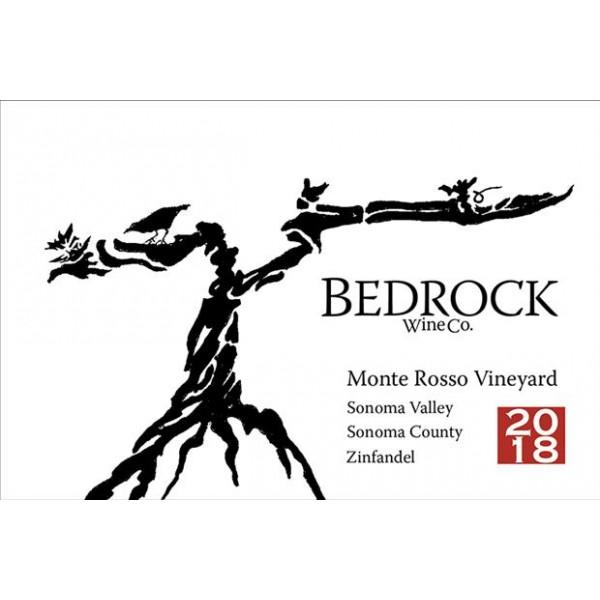 2018 ベッドロック ジンファンデル モンテ・ロッソ ヴィンヤード
